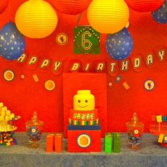 Dessertbord Lego