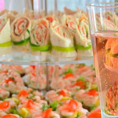 Champagne & snittar